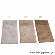 Πουγκιά Nonwoven Eco News Paper 18x9εκ.
